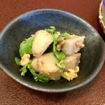 ジャム cafe 可鈴 - 里芋と菊菜のくるみ和え