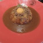 フジヤマドラゴンカレー - フジヤマドラゴンカレー(ご飯300g、辛さ7)