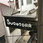 ジェラート専門店 SUGITORA - 看板