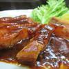 みょうが屋 - 料理写真:黒豚ポークチャップ
