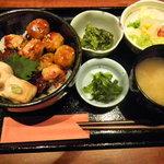 日菜や - 焼き鳥丼セット