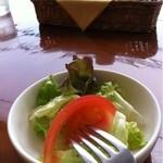 BUONOホライズン - 料理写真:セットのサラダ