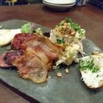 76710932 - 肉前菜盛り合わせ 1,620円