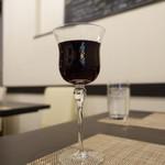 鉄板焼ダイニングKUNI - ランチワイン赤