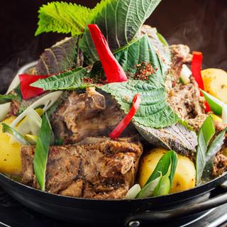 チヂミやチゲ鍋など本場の韓国料理もお楽しみいただけます◎