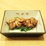 なな治 - 料理写真:☆鱈白子と九条葱 ステーキ 1200円
