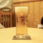 なな治 - ☆生ビール