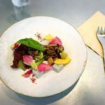 ワバラ カフェ - ホットサンドセットの前菜