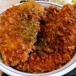 かつや - タレカツ丼(ごはん大盛)