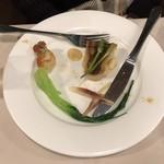 ぷうたろう - 魚。野菜とウニのソースが美味。