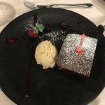 ぷうたろう - デザート。誕生日と知り大きくカットしてくださいました。