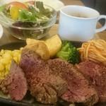 ステーキとワイン ミートグッド - 『牛ステーキランチ』