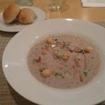 ビストロ レズゥドール  - 茸のスープ