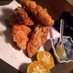 たべごとや 艸 - 牡蠣のかき揚げ