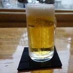 76717242 -  寒くなってもビールです
