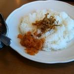 ロイヤルコーヒーショップ - ビーフジャワカレー(930円,税別),有機コーヒー付きです。