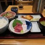 登じま屋 - 日替わり定食1000円
