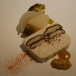 ローデヴィーニュ - さつま鶏と椎茸のテリーヌ