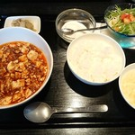 76718892 - 選べるランチ 麻婆豆腐  @850円(2017.11)