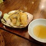 いのこ家 山形田 - 地魚と秋野菜天ぷら