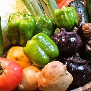 料理長栽培野菜