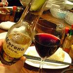 タント - 【2011.05. 初訪】 コロナ525円&赤ワイン(ボルサオ)472円