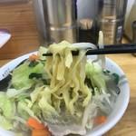 タンメンしゃきしゃき - むっちり平麺