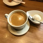 Soba Ristorante na-ru - そばのアイスとコーヒー