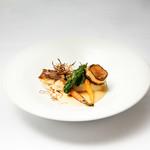 ビストロ・ダルテミス - 本日の鮮魚のポアレ ゆず風味のブールブランソース(Xmasコース)