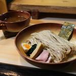 ガチ麺道場 - つけ麺ベジポタ元味 大盛(おじや付)☆