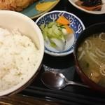 和味庵 - ご飯と味噌汁と漬物