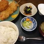 和味庵 - 日替わり肉ランチ