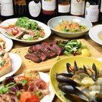 Bar Salu - ★一番人気★肉好き必食!!メインは牛ランプ♪バルザルコース¥4,000(税込) 飲み放題120分(LO90分)付