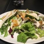 Ginsai 銀座 - お代わりのサラダもたっぷり