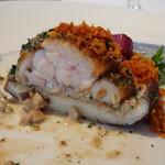 レストラン・モリエール - *仔羊自体も旨みを感じますが、椎茸と共に頂くとより美味しい
