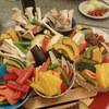 華厳 - 料理写真:色鮮やかな盛り付けはGood!