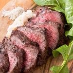 肉と日本酒 ゴッツジェイズ - A5和牛ランプ
