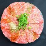肉と日本酒 ゴッツジェイズ - 和牛カルパッチョ