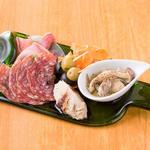 肉と日本酒 ゴッツジェイズ - タパス盛合せ(gottsuより)