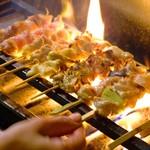鳥放題 - 料理写真:焼きたての焼鳥 食べ放題