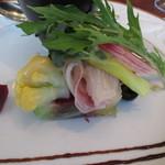 カジュアルフレンチ アミー - カンパチとお野菜