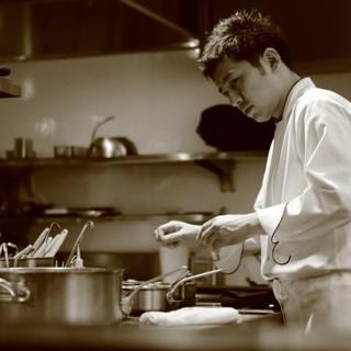 地元名古屋でシンプルながらも精錬されたフランス料理を