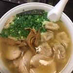 76727736 - 叉焼雲吞麺