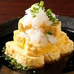 酒・蕎麦 田治 - 出汁巻き玉子