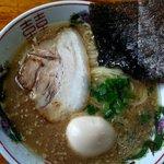 三男坊 - 料理写真:ラーメン600円+味玉100円