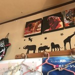 タイガーカレー - 壁の装飾