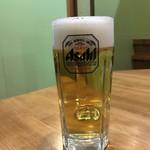 希舟航 - 生ビール