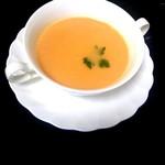 西洋料理 萬吉 - かぼちゃのスープ(^^)
