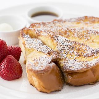 1日を通してお楽しみいただけるヘルシー&リッチな朝食メニュー
