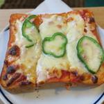 どんぐり舎 - ピザトーストセット ほろ苦ブレンドで2